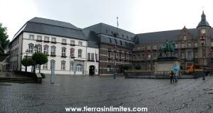 La parte antigua de Dusseldorf