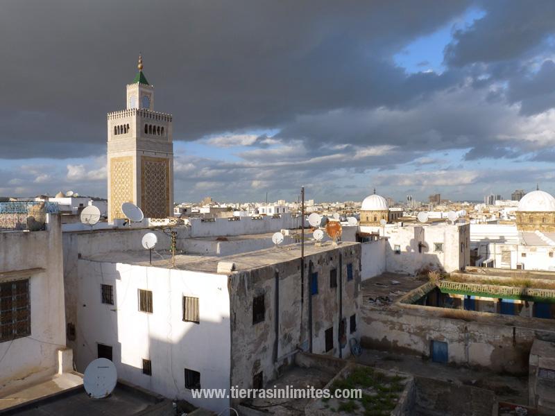 Vista de Túnez