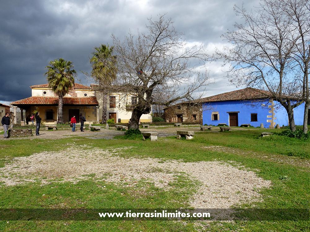 Granadilla, un pueblo abandonado por un embalse y convertido en casi un museo
