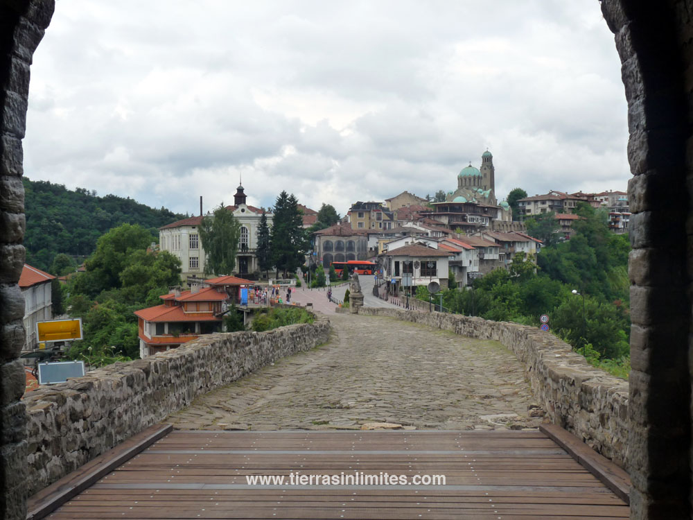 Veliko Tarnovo, antigua capital de Bulgaría, es una de las ciudades más bonitas del país.