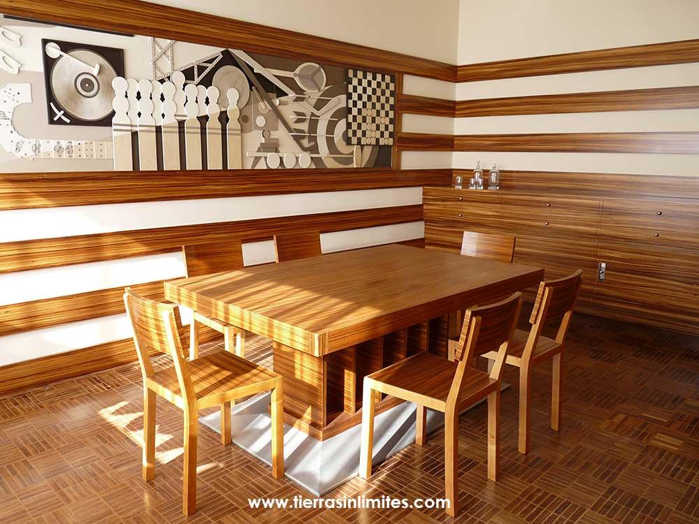 Los muebles de Villa Cavroix, ¿no os recuerdan a determinada marca sueca?